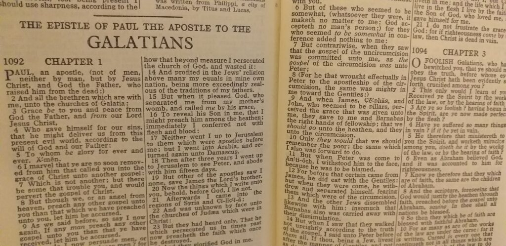 The Book of Galatians Verse-by-Verse Bible Study